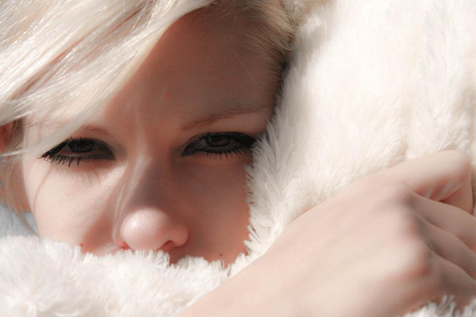 Eyes, View, Girl, Blonde
