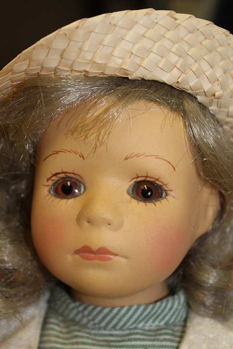 Doll, Fig, Toys, Face, Eyes, Girl, Child, Close