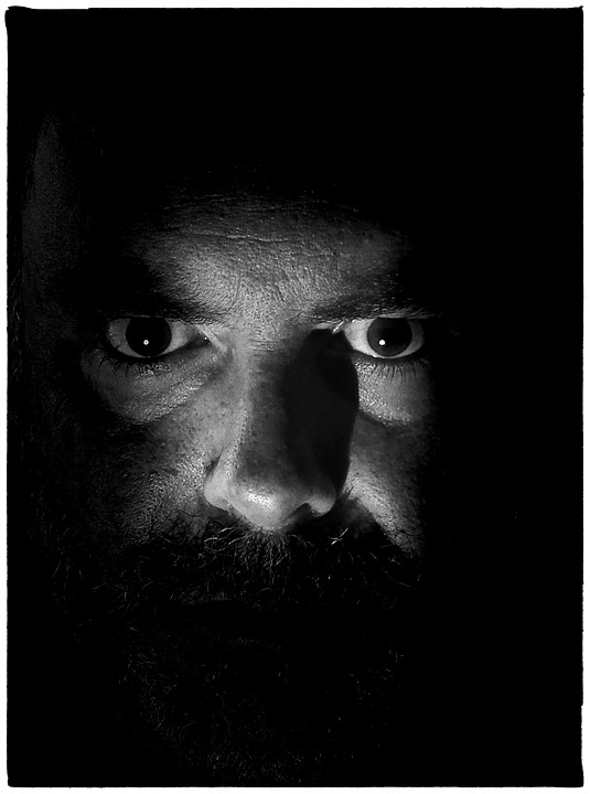 Face, Eyes, Mature, Mr, Man, Dark, Hidden, Fear