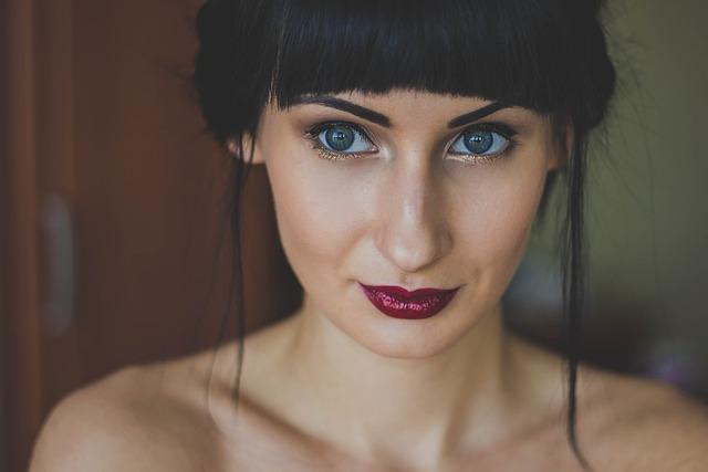 Woman, Girl, Eyes, Model, Lips, Portrait, Lipstick