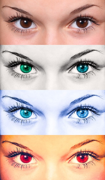 Eyes, Female, Collage, Woman, Fashion, Beautiful, Iris