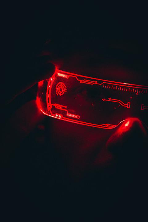 Light, Glasses, Technology, Eyewear, Red