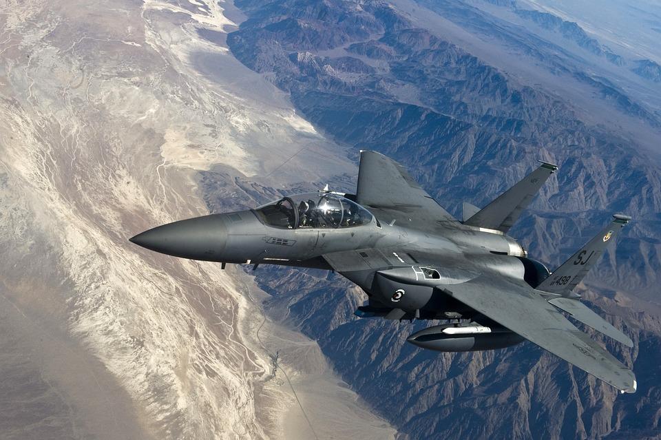 Fighter Jet, F 15 Strike Eagle, Fighter Aircraft