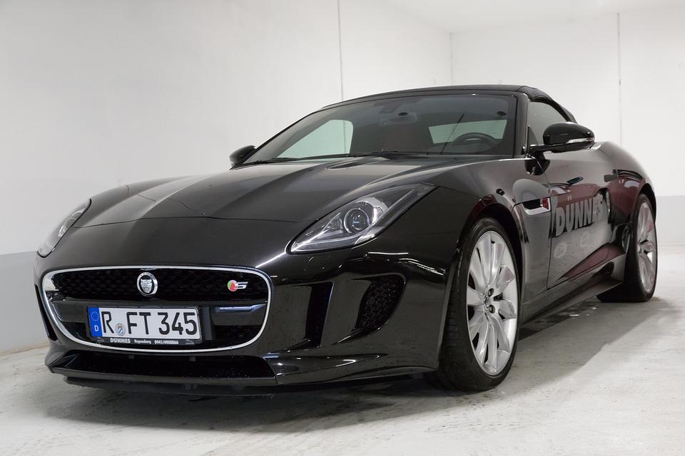 Jaguar, F Type, Coupe, Hood