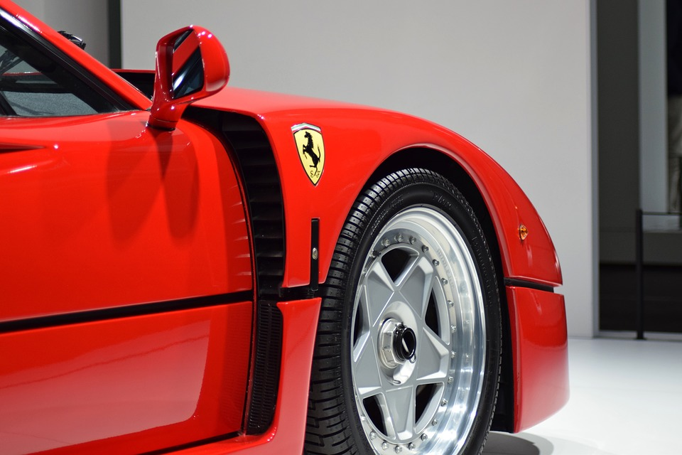 Ferrari, F40, Racing, Sports Car, Auto, Racing Car