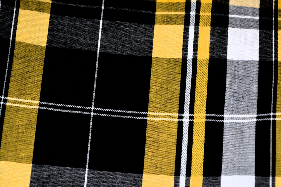 Free photo Fabric Black Yellow Plaid Tartan Pattern Textile - Max Pixel