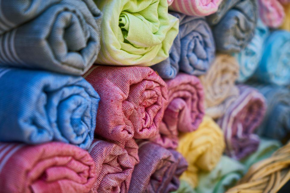Towel, Textile, Fabric, Cotton, Color, Shopping, Bazaar
