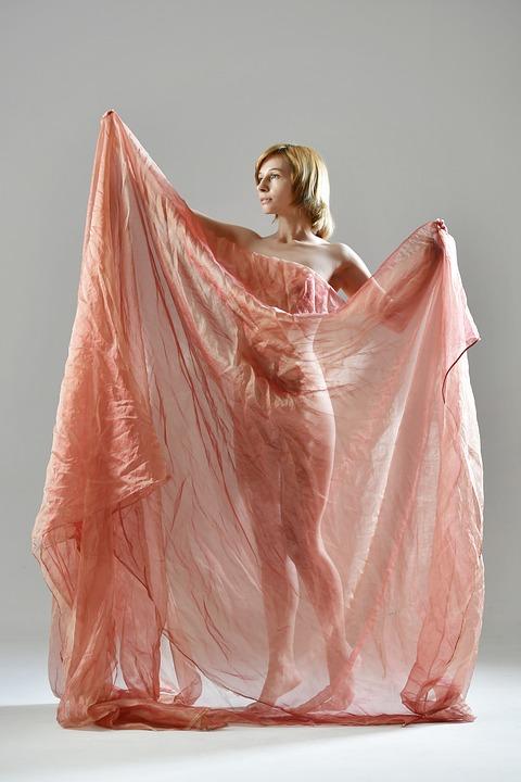 Fabric, Silhouette, Erotica, Figure, Body Contour, Body