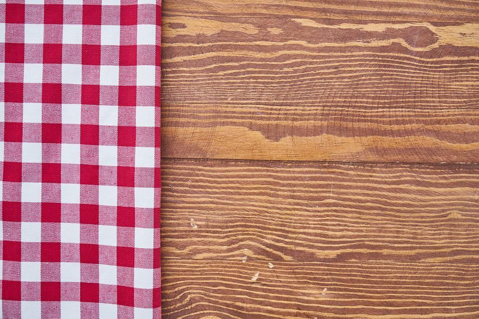 Free photo Fabric Table Red Textile Brown Plaid White Towel - Max ...