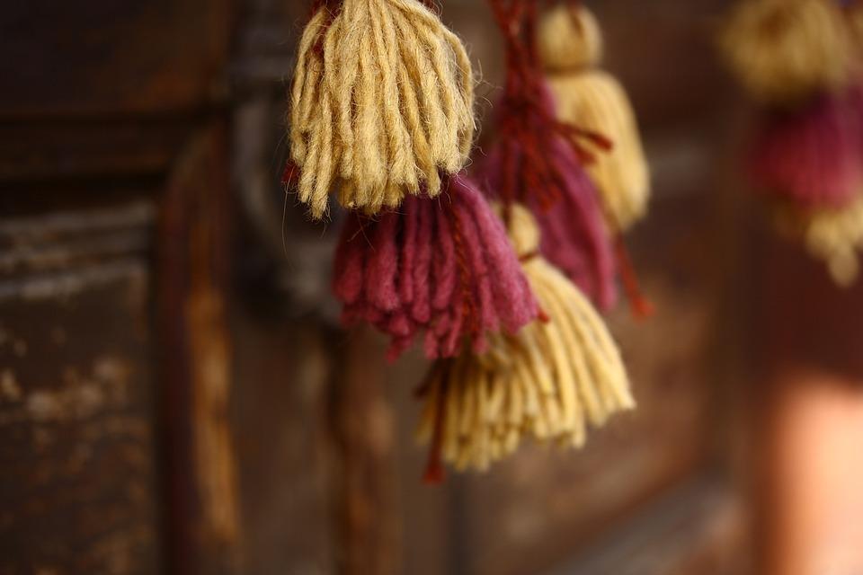 Ornament, Fabric, Tassel, Pattern, Design, Textile