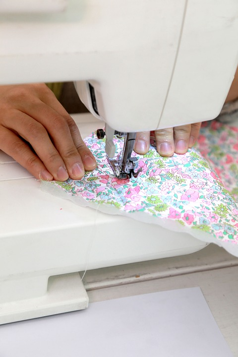 Sewing Machine, Sewing, Fabric, Ssoing, This Bongteul