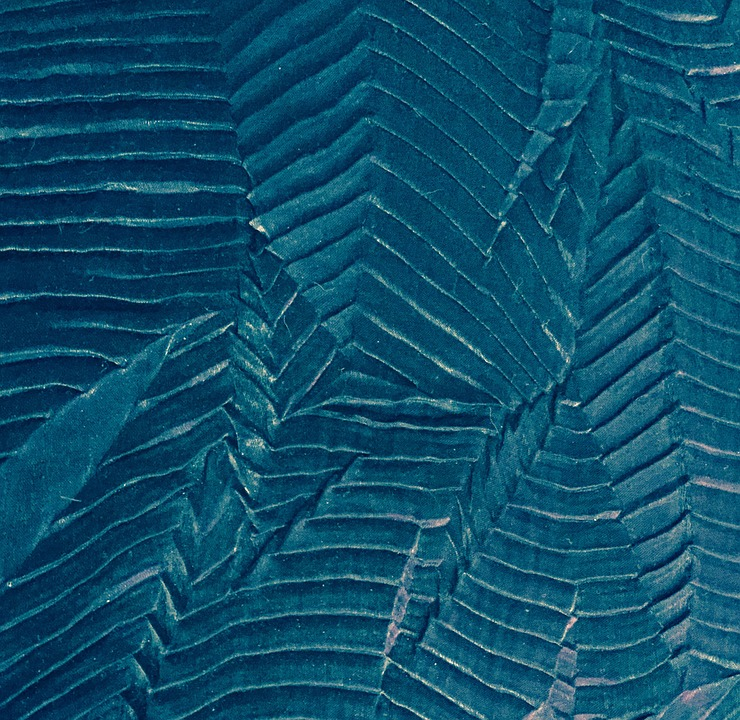 Fabric, Texture, Textile, Shiny, Ridges, Wrinkles