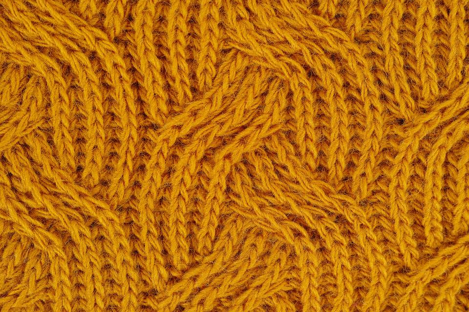 Yellow, Fabric, Wool, Yarn, Kazakh, Cardigan, Weaving