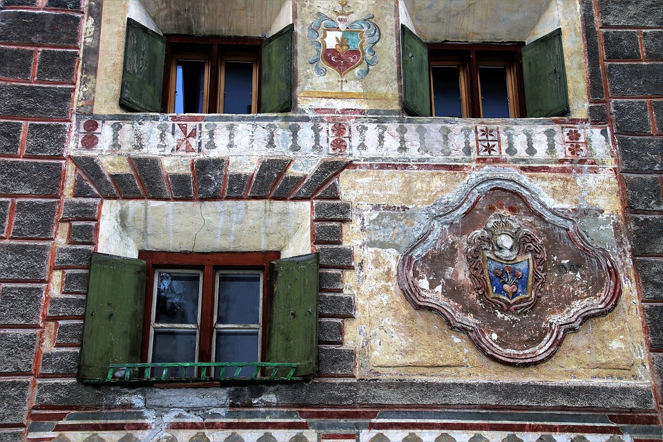Architecture, Window, Old, Facade, House, Building
