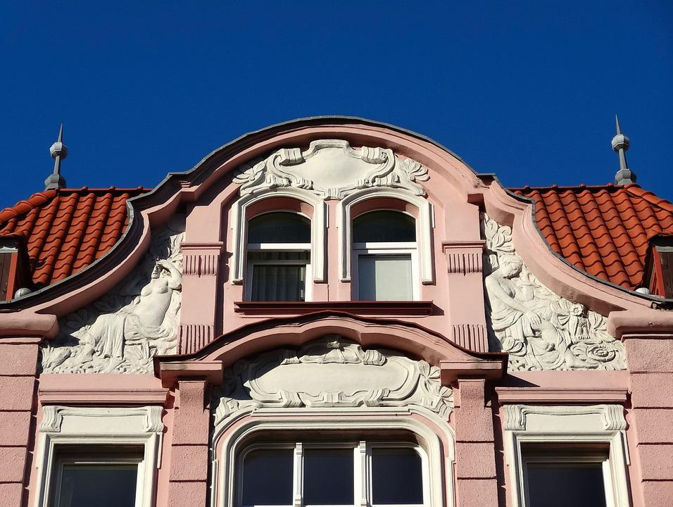 Gable, Pediment, Architecture, Facade, Exterior