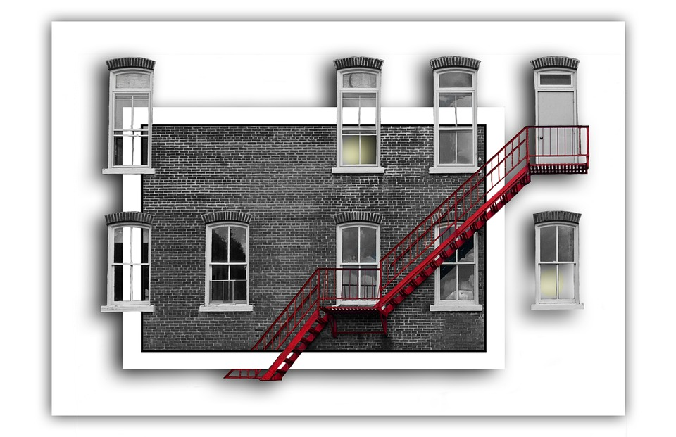 Architecture, Facade, Façade, Stairs, Staircase