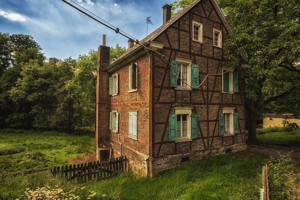 House, Old, Facade, Rural, Village, Architecture