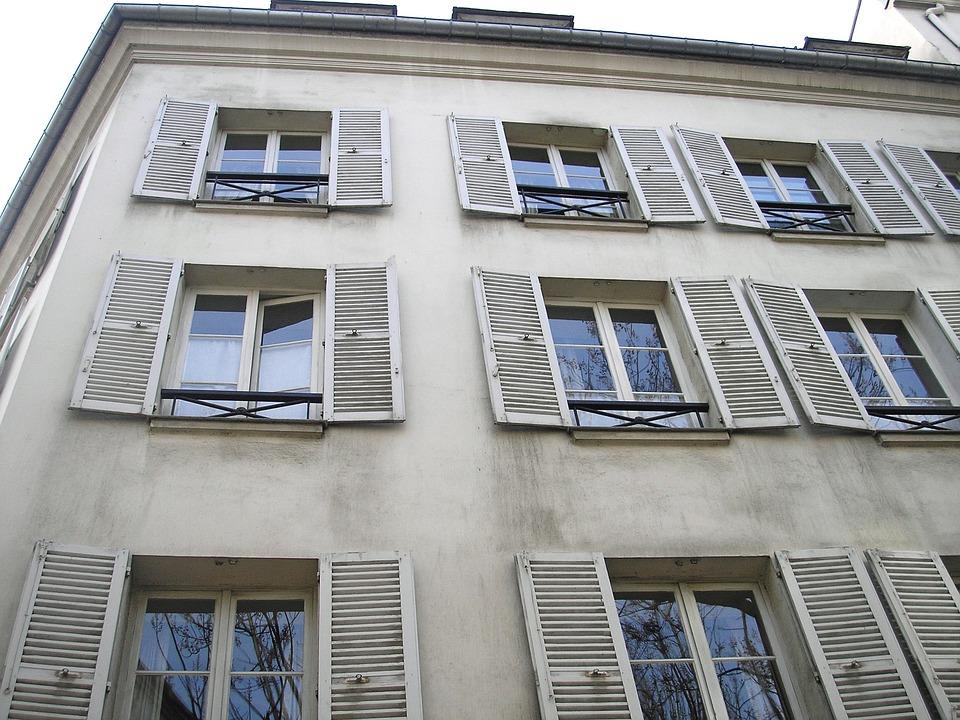Window, Architecture, House, Apartment, Facade, Paris