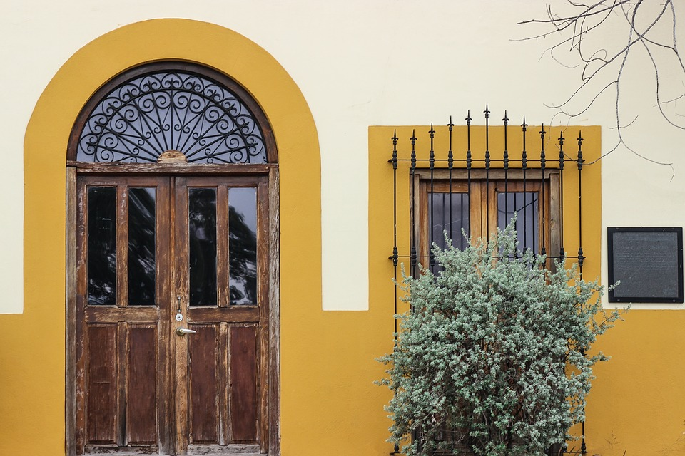 Architecture, Door, House, Entrance, Wood, Facade