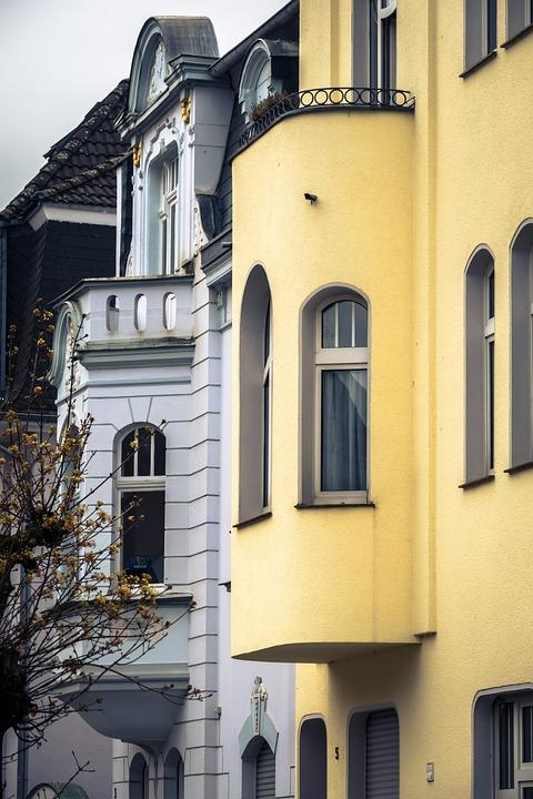 Bay Window, House Facade, Window, Facade, Architecture