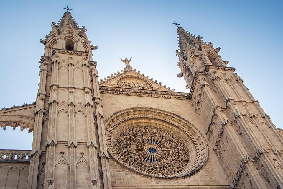 Cathedral, Church, Architecture, Building, Facade
