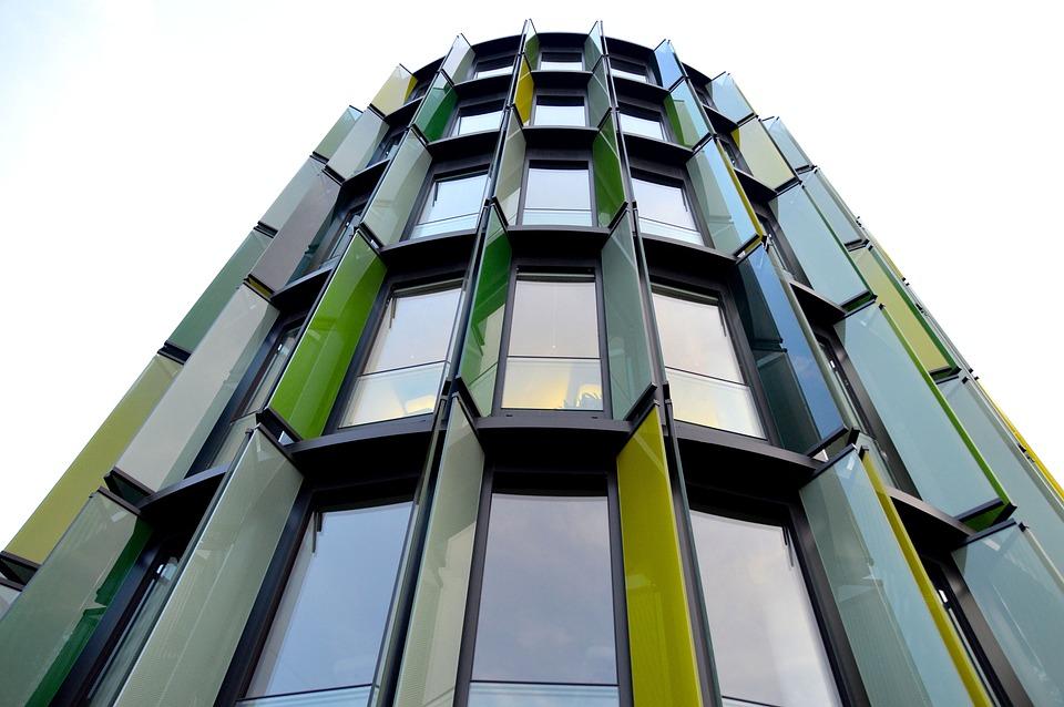 Building Construction, Skyline, Sunscreen, Facade