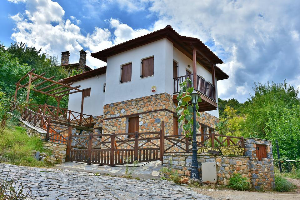 Home, Architecture, Traditionally, Building, Facade