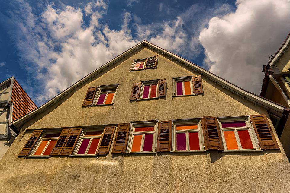 House, Building, Architecture, Window, Old, Facade