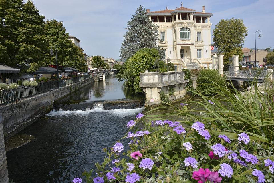 Lisle Sur Sorgue, Channel, Beautiful Home, Facade