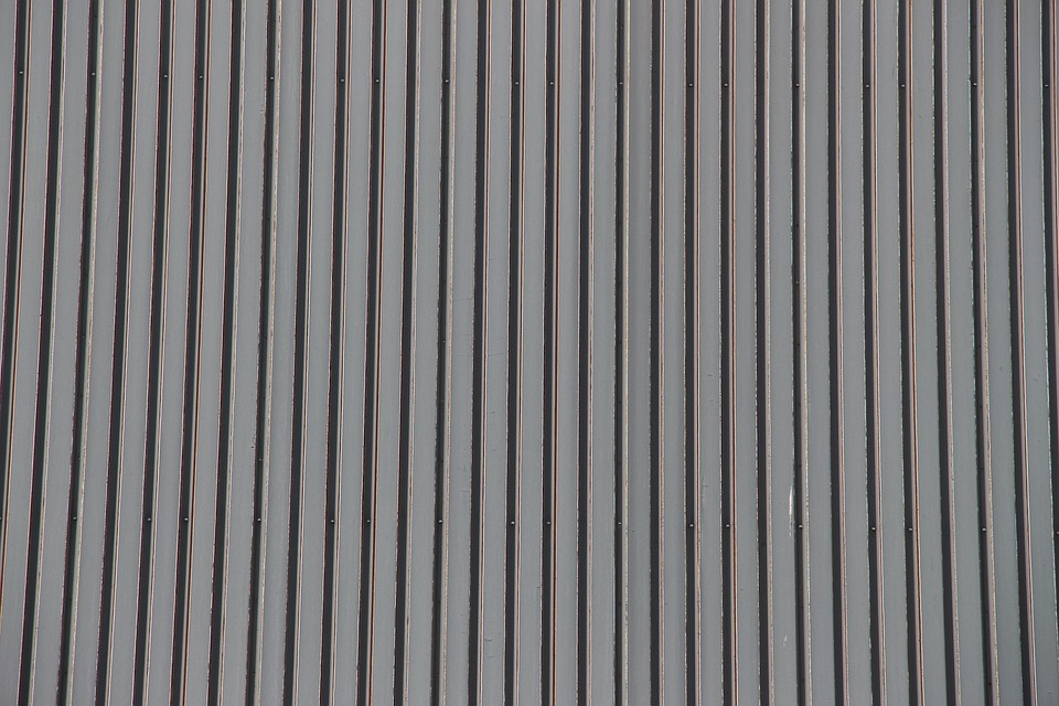 Corrugated Sheet, Facade, Sheet, Texture, Wall