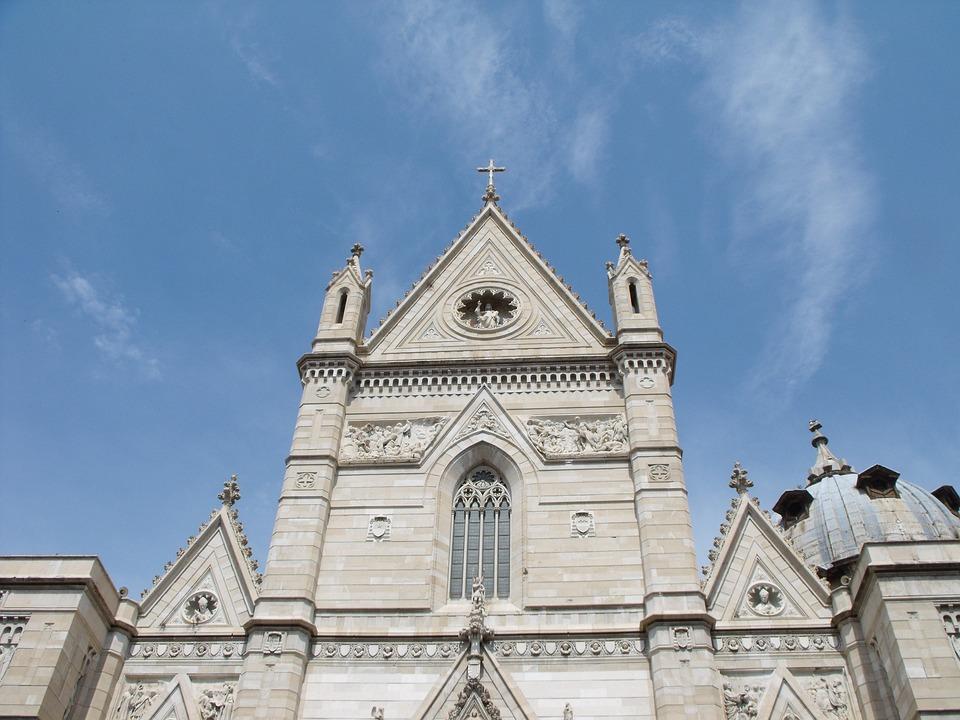 Duomo Di Napoli, Facade, Marble
