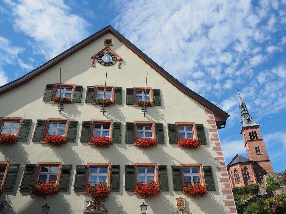 Town Hall, Home, Laufenburg, Front, Facade