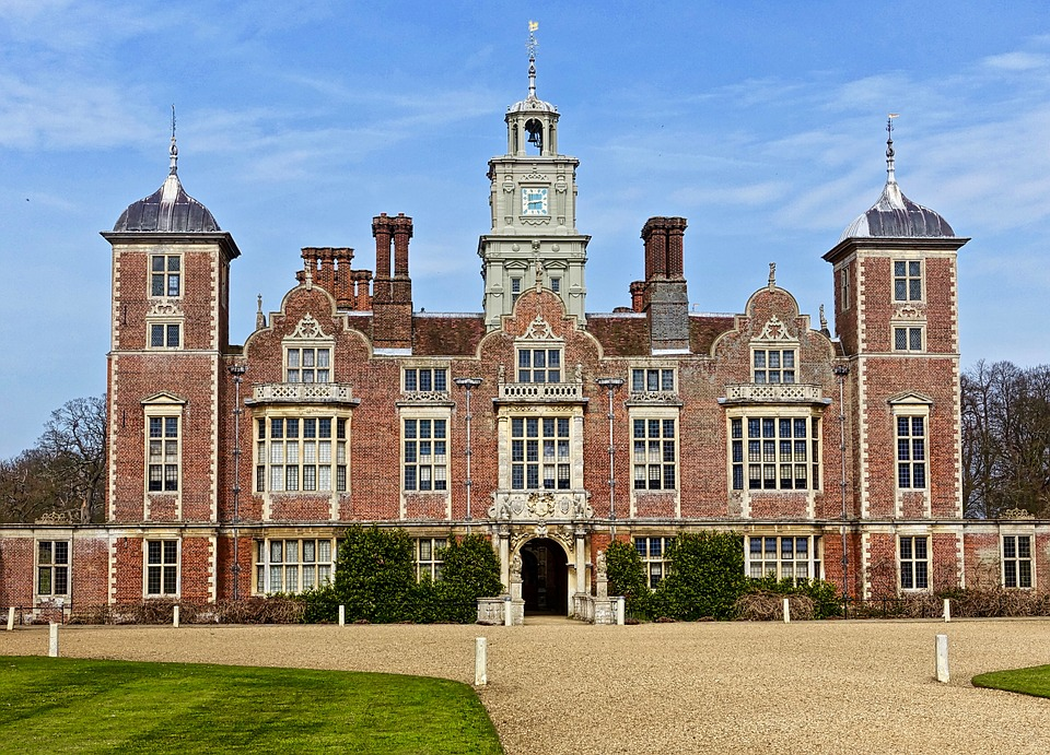 Blickling Estate, Palace, Facade, Heritage, Aristocracy