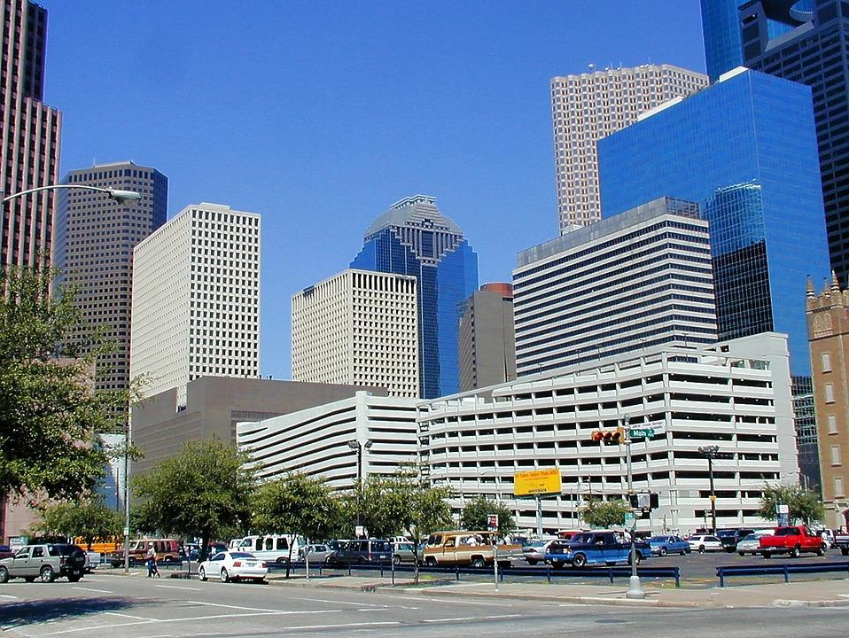 Houston, Skyscrapers, Homes, Texas, Skyscraper, Facade