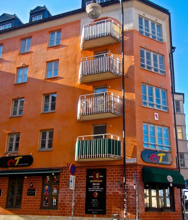 Facade, City, Structure, St Pauls Street, Södermalm