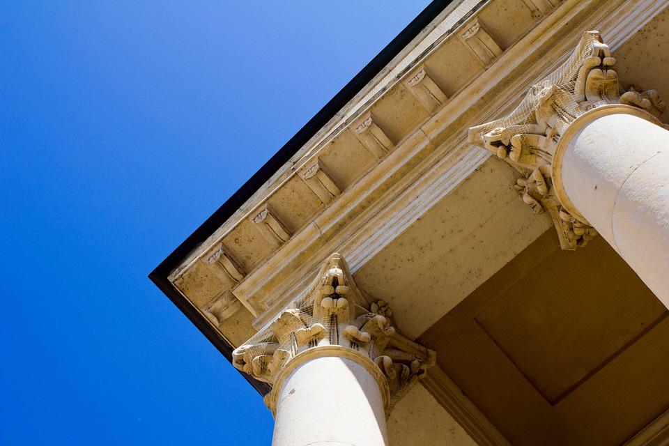 Columnar, Temple, Church, Building, Facade, Structure
