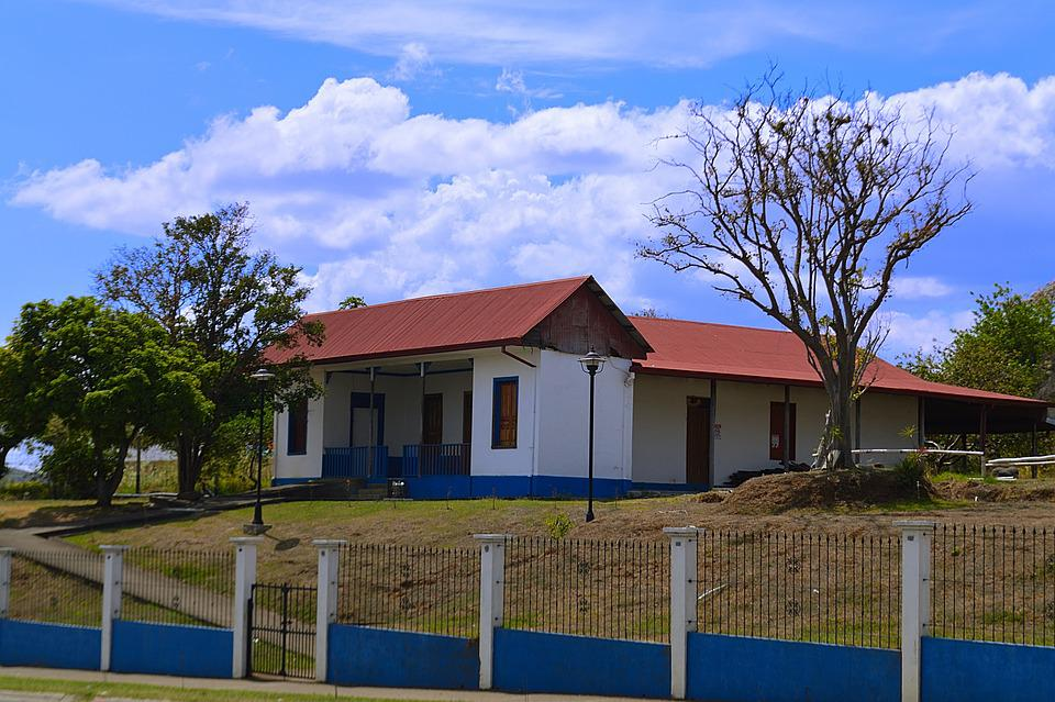 House, Typical, Architecture, Facade, Houses, Tourism