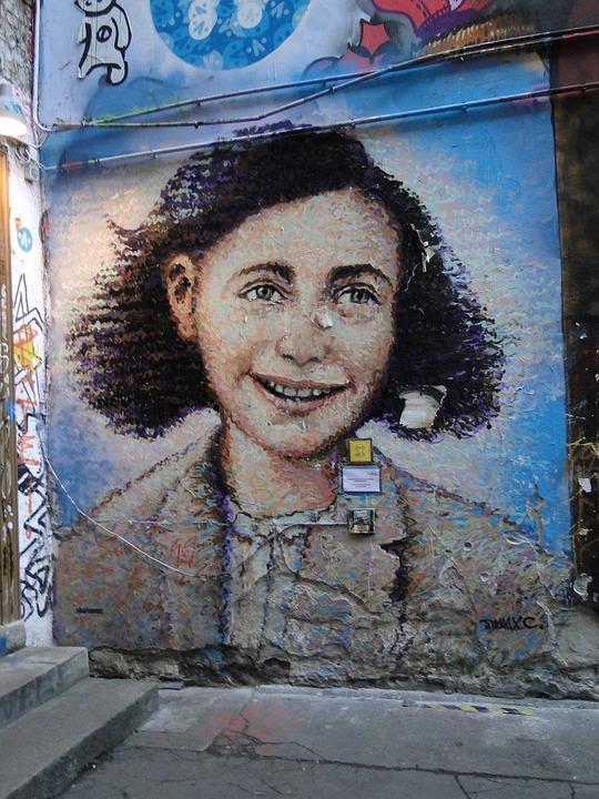Street Art, Anne, Wall, Facade, Spray, Graffiti