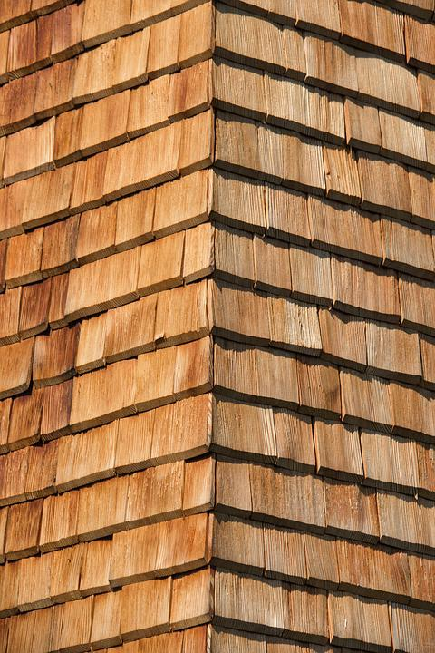Shingle, Wood Shingles, Facade, Facade Cladding