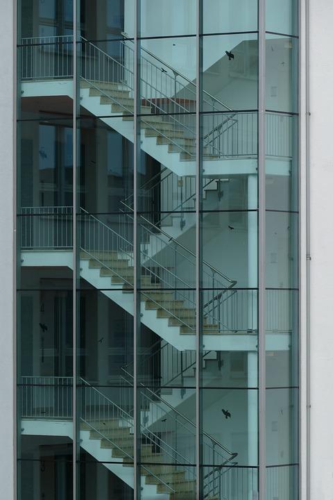 Architecture, Facades, Mirror Facades Nürnberg, South
