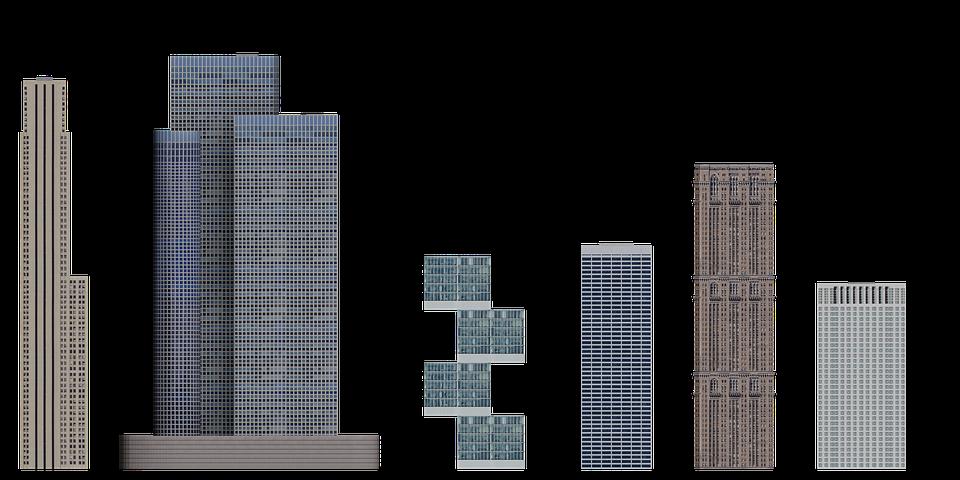 Buildings, Facades, Exteriors, Architecture, Cut Out
