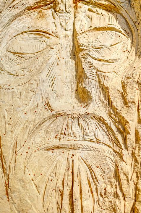 Statue, Wood, Sculpture, Art, Religion, Carved, Face