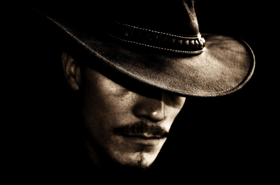 Man, Hat, Portrait, Face, Drover, Decorations, People