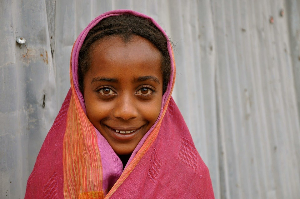 Girl, Africa, Ethiopia, Child, Children, Kids, Face