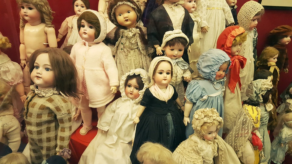 Dolls, Vintage, Shabby Chick, Figure, Toys, Face, Old