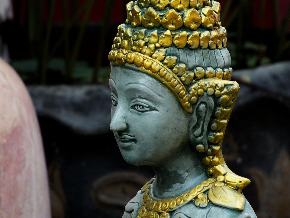 Statue, Angel, Sculpture, Form, Face