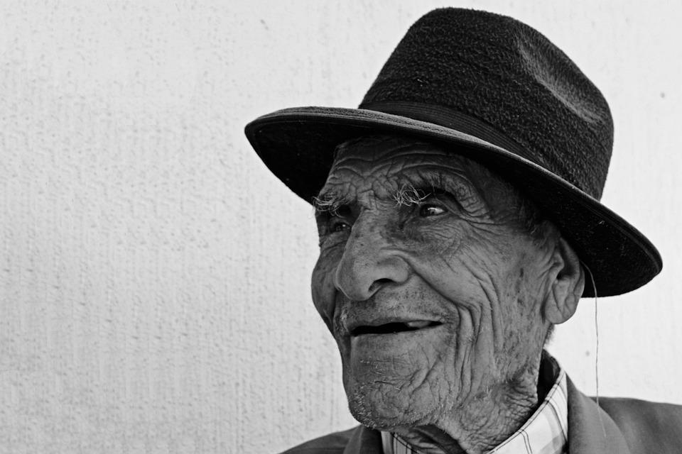 Mr, Elder, A Hundred Years, Smile, Happy, Face, Smiling
