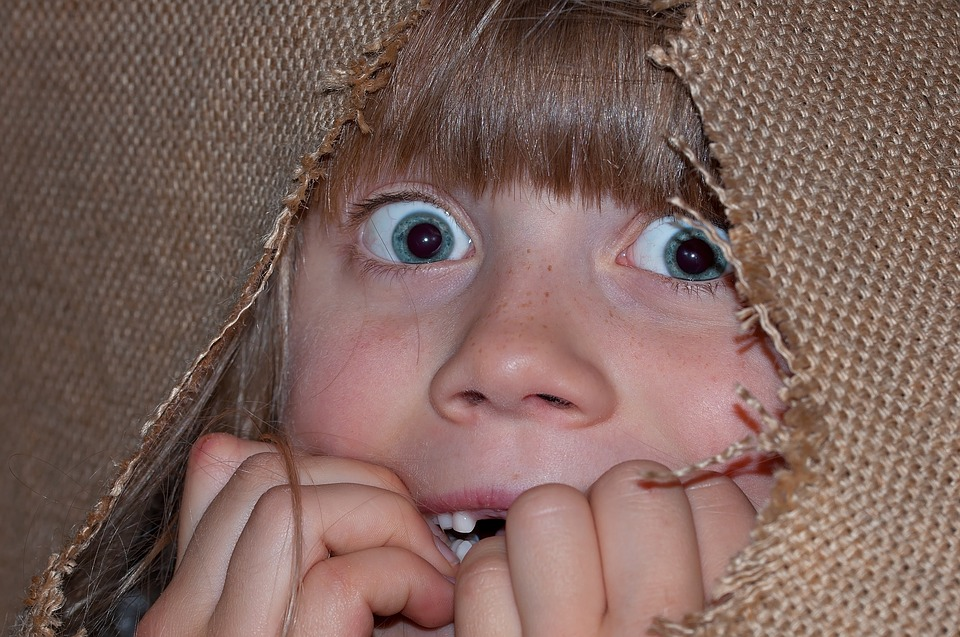 Person, Human, Girl, Child, Eyes, Face, Frightened