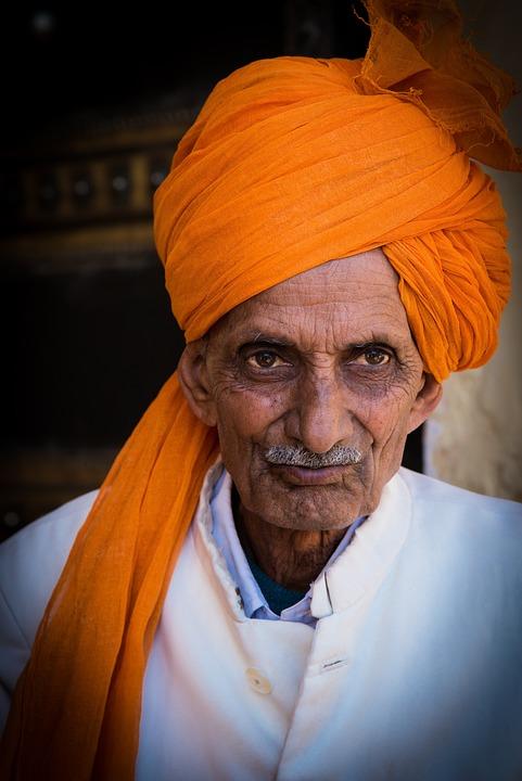 Indians, Portrait, Man, Human, Head, Face