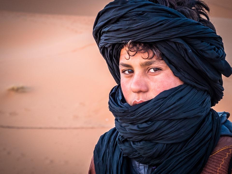 Moroccan, Human, Man, Face, Desert, Portrait, Head
